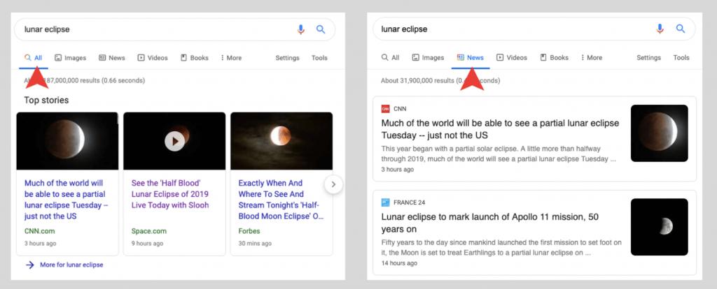 Google news SEO cómo aparecer en el