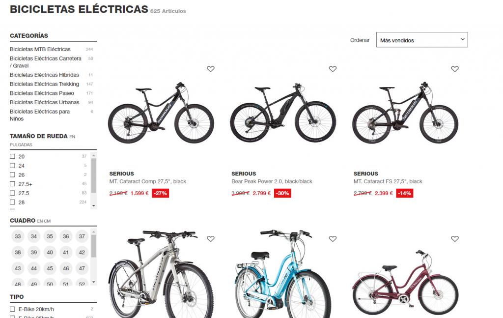 Cómo posicionar a nivel SEO para bicicletas eléctricas
