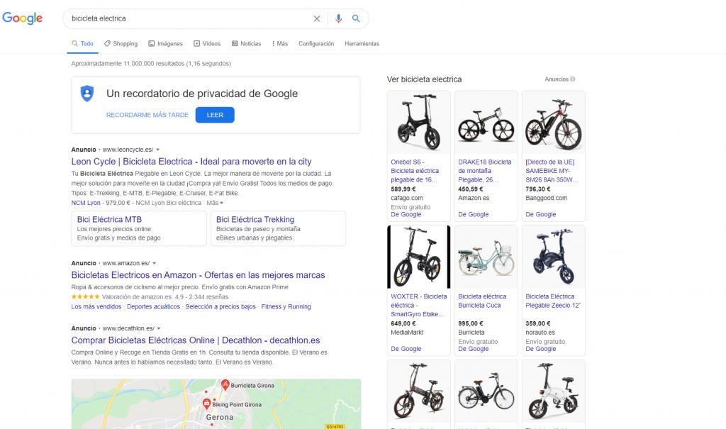 SERPS para bicicletas eléctricas