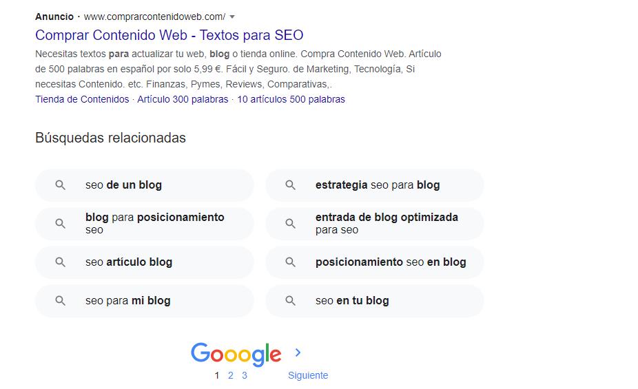 SEO en artículos en WordPress