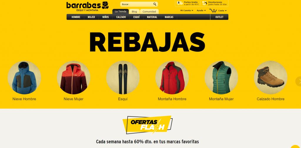 Caso práctico SEO Barrabes.com