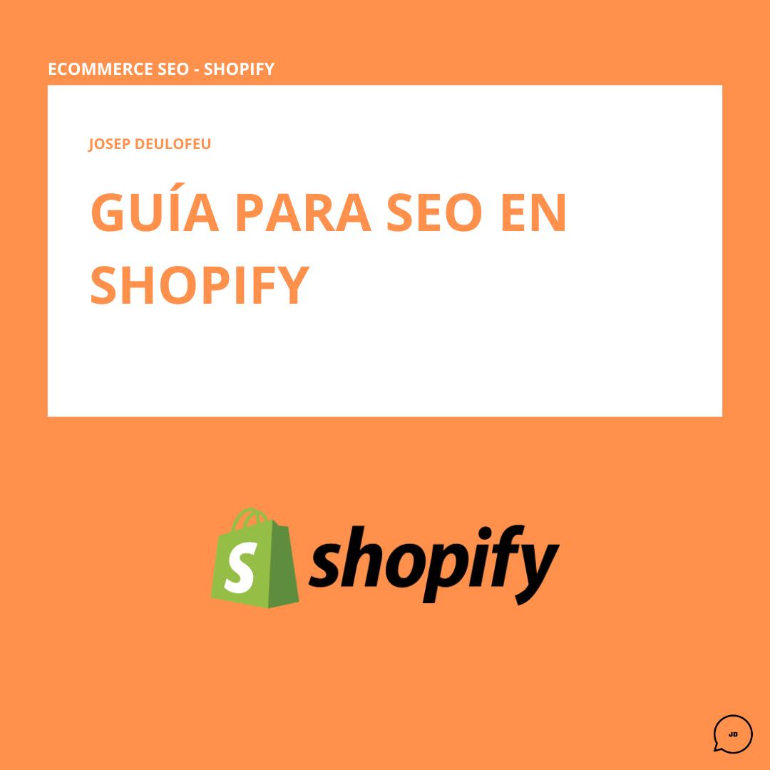 Guía SEO para Shopify