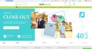 caso de éxito ecommerce de Golf en prestashop